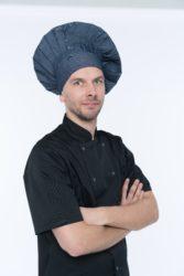 Džinsinė virėjų kepurė