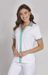 Medicininiai polo marškinėliai